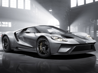The new Ford GT will be available with optional carbon fibre wheels