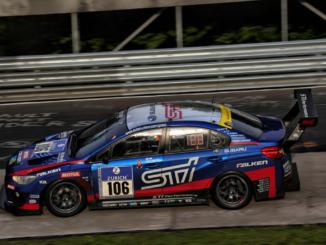 Team Subaru Tecnica International's WRX STI