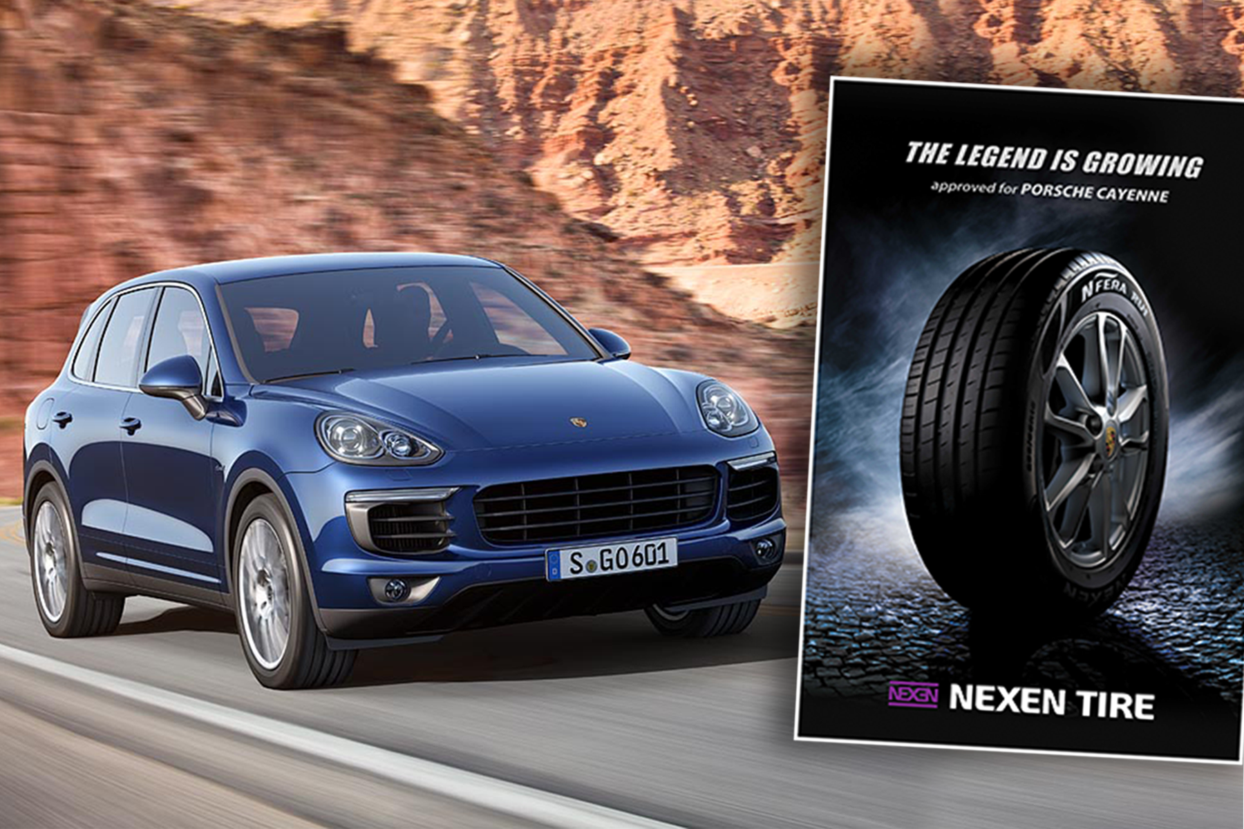nexen tire to supply oe tyres for porsche cayenne. Black Bedroom Furniture Sets. Home Design Ideas