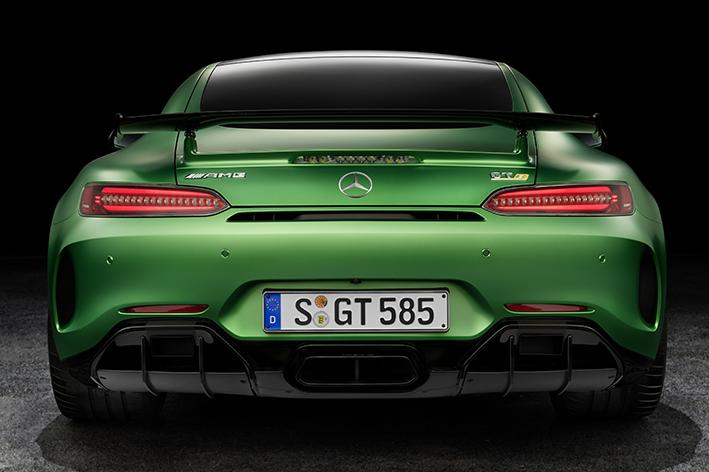 The Mercedes-AMG GT R