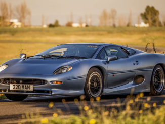 Bridgestone has produced new tyres for the classic Jag XJ220