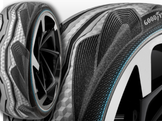 The Toyota i-TRIL concept runs on Goodyear CityCube concept tyres