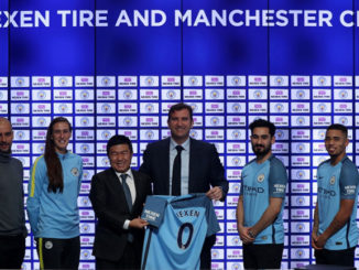 Nexen Tire and Manchester City have extended their partnership