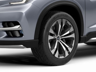 Falken tyres are fitted to the Subaru Ascent Concept