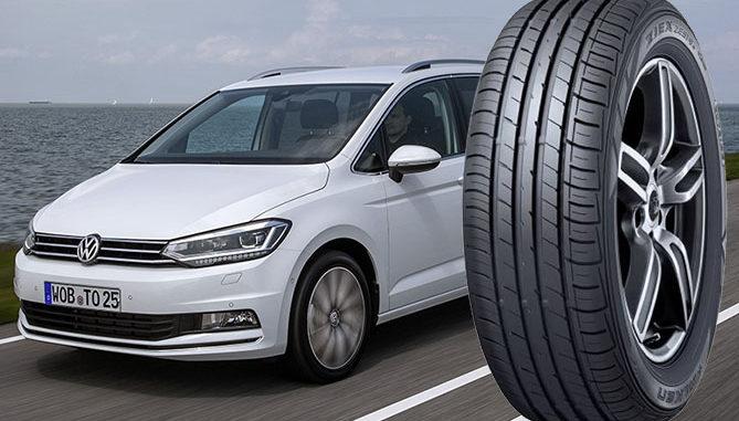 Falken is to supply its ZIEX ZE914A Ecorun for the new VW Touran