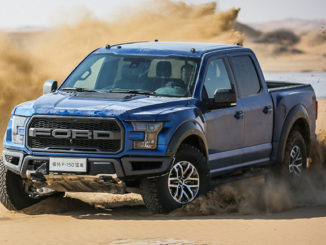 Ford is introducing its 'Built Ford Tough' truck brand to China