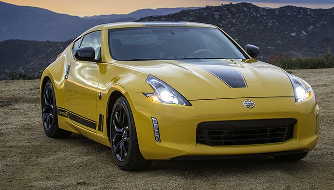 Nissan it to preview the 370Z Heritage Edition at the New York Motor Show