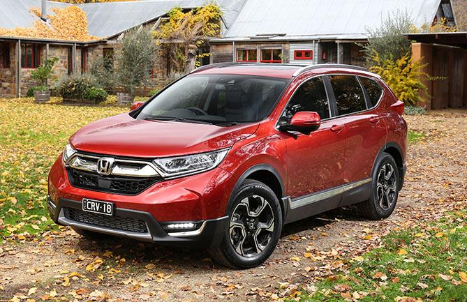 Honda reveals pricing and specs for australian cr v model for Honda crv pricing