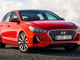 The new Hyundai i30 (SR Premium model pictured)