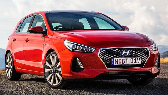 The new Hyundai i30 (SR Premium model pictured)