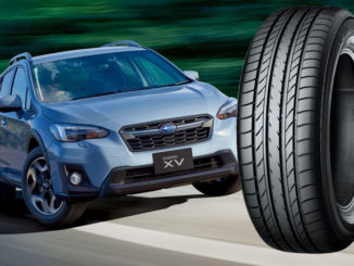 Yokohama's BluEarth E70 will feature on the new Subaru XV