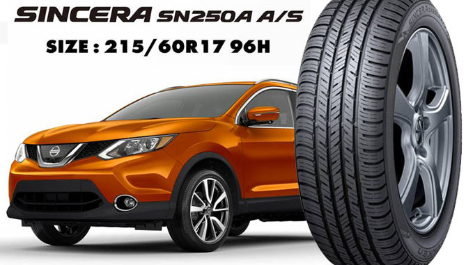 Falken's Sincera SN250A A/S will be standard on the new Nissan Rogue Sport in the U.S.