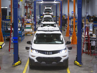 GM has completed production of 130 Chevy Bolt EVs equipped with its self-driving tech