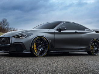 Pirelli is to partner with Infiniti on its 'Project Black S'