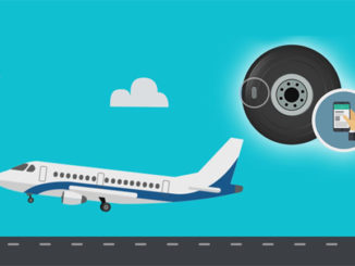 Michelin and aerospace systems supplier Safran have unveiled the world's first connected tyres for the aeronautical industry.