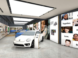 Volkswagen UK will open its first store next month