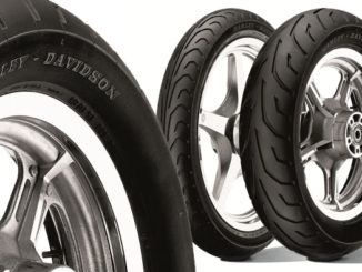 Dunlop's GT502 features on the latest Harley XL1200 CX Roadster.
