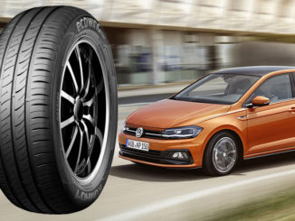 The VW Polo will be fitted with Kumho tyres in the UK