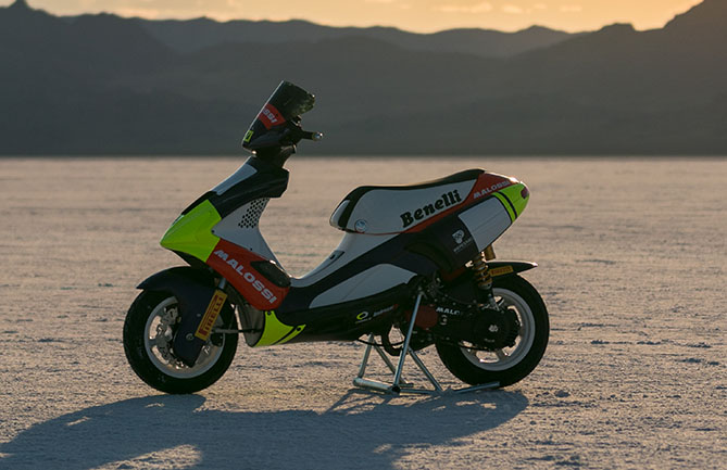 Pirelli shares in Scooter World Record success – tyrenews com au