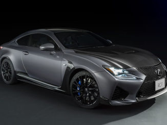 Limited-edition Lexus RC F coupe