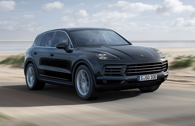 The third-generation Porsche Cayenne