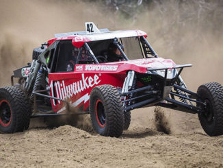 Team Toyo driver Danny Brown and navigator George Apted are 2017 ARB Australian Off-Road Racing Series champions.