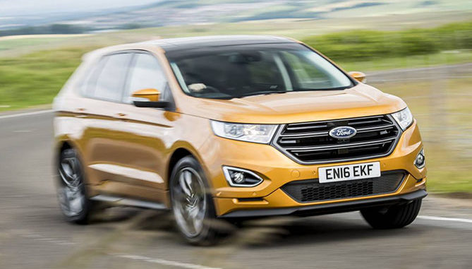 The Ford Endura Known As Edge In Other Markets Will Join Australias Ford Line