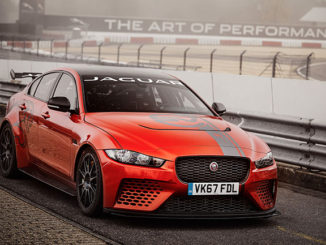 The Jaguar XE SV Project 8 has set a new record for a four-door sedan of production specification at the Nürburgring