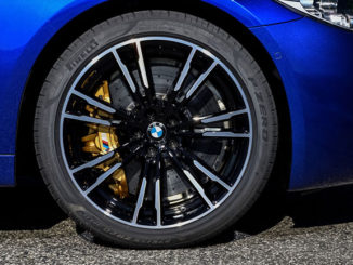 Specially engineered Pirelli P Zero tyres will be fitted to the all-new BMW M5