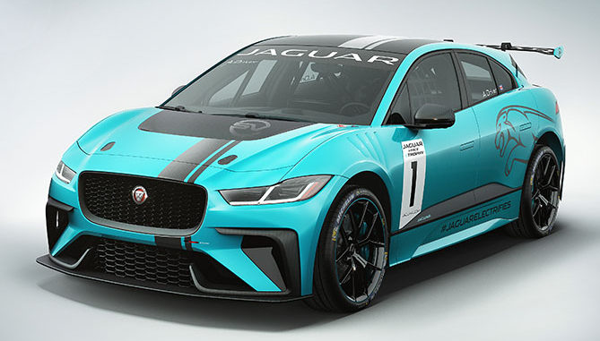 Michelin is to be the Official Tyre Supplier to Jaguar's I-PACE eTROPHY series