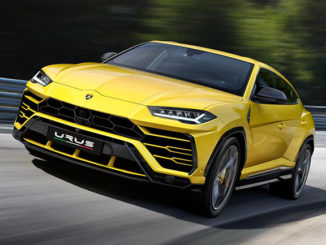 The Lamborghini Urus will run on Pirelli tyres