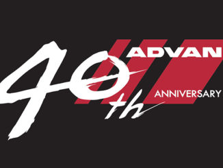 Yokohama's new logo for the ADVAN brand's 40th anniversary