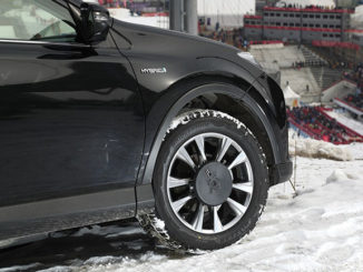 Bridgestone Blizzak tyres on the International Olympic Committee (IOC) vehicles in PyeongChang (credit IOC / Getty Images)