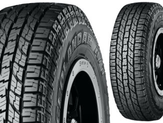 Yokohama Geolandar A/T G015 tyre has been adopted as original equipment on 2018 Ram 1500 full-size pickup trucks