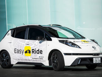 Nissan and DeNA are testing Easy Ride, a robo-vehicle mobility service