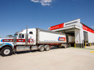 : Bridgestone Service Centre Barossa offers full B-double drive through access to its two workbays