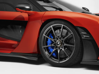 The McLaren Senna will sport Pirelli tyres