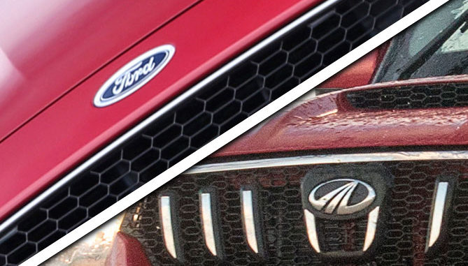 Mahindra and Ford to Co-Develop SUVs, an Electric Vehicle