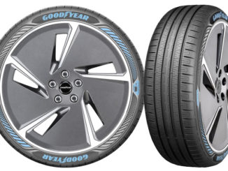 Goodyear's EfficientGrip Performance with Electric Drive Technology