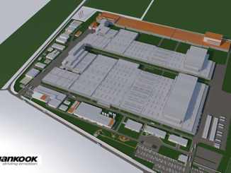 Hankook Tire is to expand its factory in Hungary (expansion area in orange) with a new truck tyre production unit