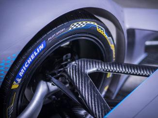 Michelin's new Pilot Sport tyre for Formula E