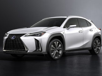 The Lexus UX crossover will wear Bridgestone Turanza run-flat tyres