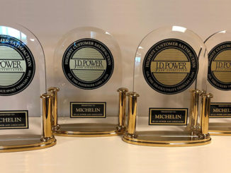 Michelin has received top awards from J.D. Power