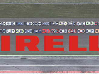 Pirelli has recreated a historic logo portrayal at Monza