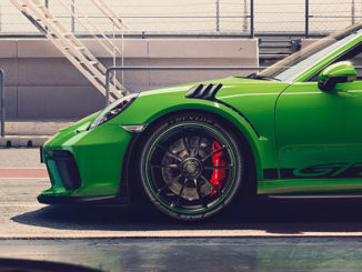 Dunlop Sport Maxx Race 2 tyres will be fitted to the Porsche 911 GT3 RS