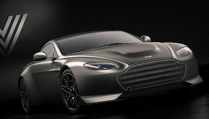 The Aston Martin V600