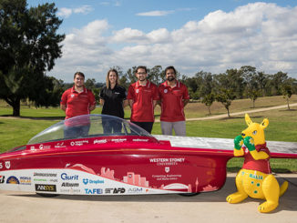 The Western Sydney Solar Team is set to take on the world when it embarks on the Formula Sun Grand Prix and American Solar Challenge.