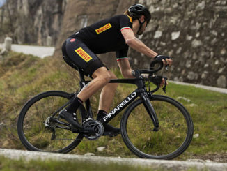 The Pirelli PZero Velo tyres will be fitted to the Pinarello Dogma F10 bike