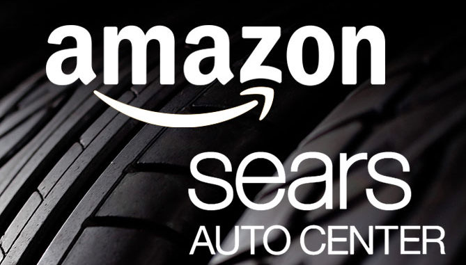 Amazon and Sears to team up on tyre service
