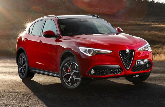 Alfa Romeo's Stelvio SUV has received a 5-star ANCAP safety rating